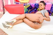 petite ebony gal shows