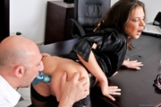 babe stockings gets table
