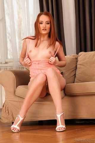darling redhead commands attention