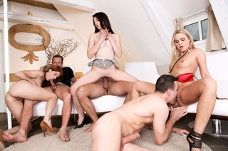 awesome passionate orgy takes