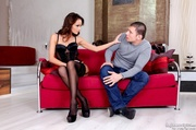 with cuckold watching alluring