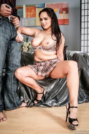 Brunette slut sticks a finger in her ass - XXX Dessert - Picture 4