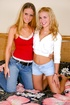 two svelte lesbians experiment