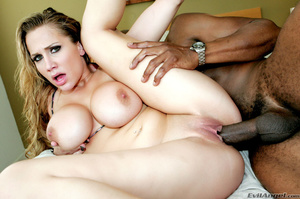 Blonde bitch with gray eyes enjoys sucki - XXX Dessert - Picture 3