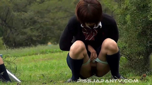 Three hot Japanese coeds are seen pissin - XXX Dessert - Picture 8