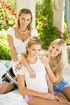 teen blonde and two