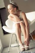 blonde, dress, erotica, white