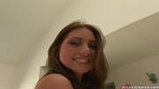 blue-eyed brunette slut white