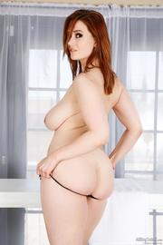 busty redhead massage girl