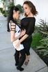 two gorgeous brunette lesbians