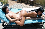 exotic dark-skined babe and