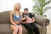 blonde bombsgell with banging