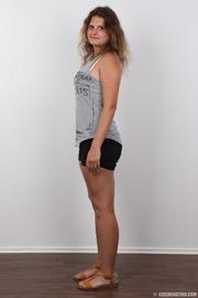 plumpy brunette euro chick