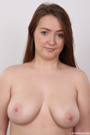 chubby red haired babe