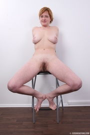 this mature blonde with
