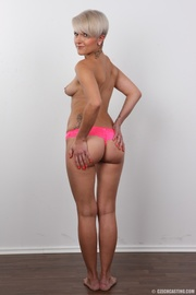 white haired milf pink
