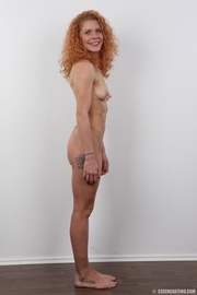 curly red head flexible