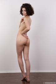 stunning curly brunette slut