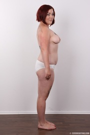 red haired chubby bitch