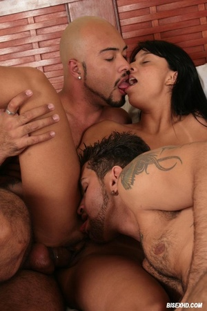 Lucious guy gets pounded while his cock  - XXX Dessert - Picture 13