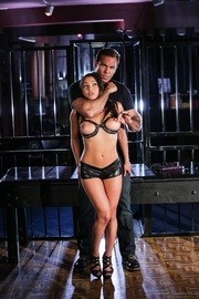 this kinky bondage slut