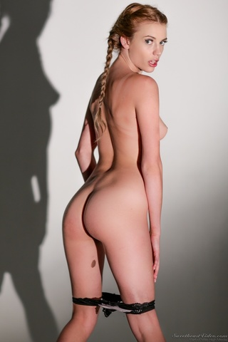 blonde hottie french plaits