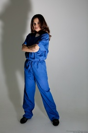prison jumpsuit taken off