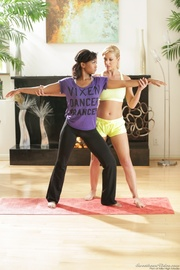lesbian yoga lessons from