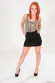 high heeled redhead sexy