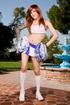 tall redhead tranny cheerleader