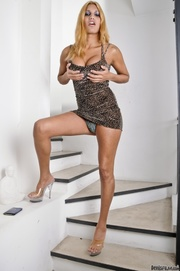 high heeled transsexuals teasing