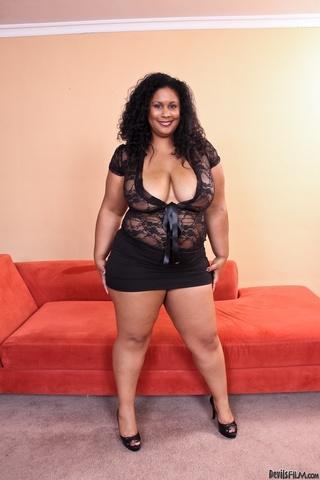 black outfit dressed ebony