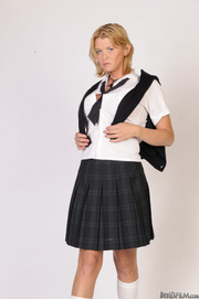blonde transsexual college girl