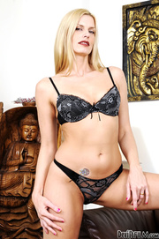blonde milf and her