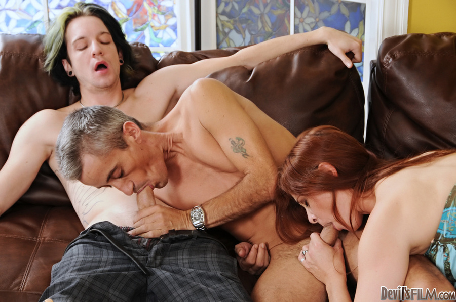 Amateur Mmf Threesome Bi