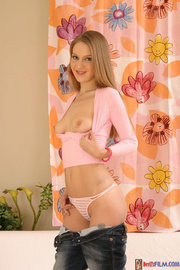 petite body blonde pink