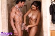 luscious hottie teases her