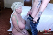 tit-fucking and pussy-licking action