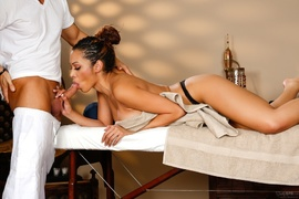 ebony, massage