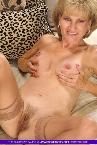 mature chick steaming hot