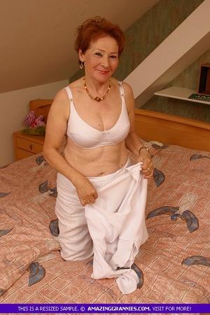 Granny in her underwear