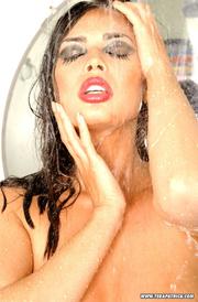 busty slut soaks herself