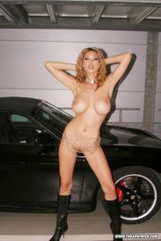 naked slut poses naked