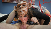 slut monkey mask and