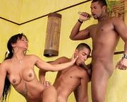 yummy latina with hoop