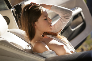 Hot beauty in sexy high hills is tired o - XXX Dessert - Picture 1