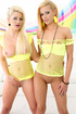 black panties blondes yellow