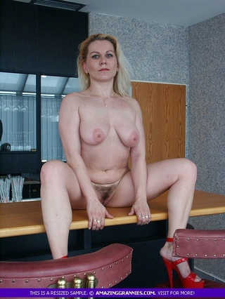 alluring milf displays big