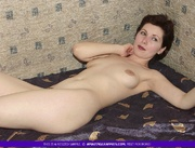 skinny granny teases with