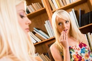 high heeled blonde sexy
